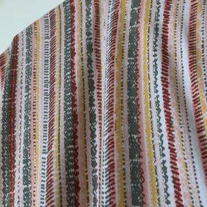 BCBGeneration Pants - BCBGeneration Basketweave Stripe Romper NWOT
